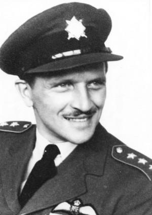 Raimund Půda těsně po konci války. Foto: sbírka Jiřího Rajlicha