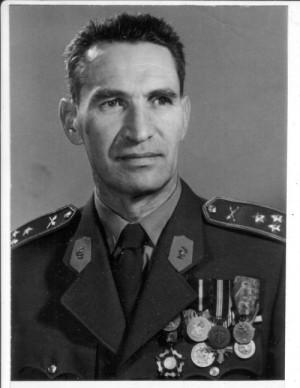 Bedřich Placák v šedesátých letech v hodnosti plukovníka