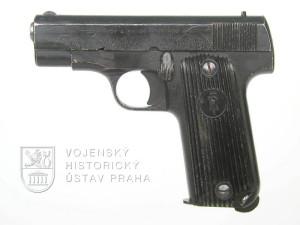 Francouzská pistole Unique model 17 – francouzský kontrakt