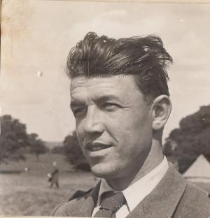 Bernard Šik na snímku z léta 1940 v táboře v Cholmondeley