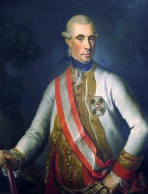 Ernst Gideon svobodný pán von Laudon, zde již v hodosti polního maršála