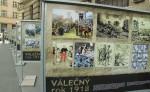 Výstava před Generálním štábem v Praze 6 přibližuje dění posledního roku první světové války – 1918
