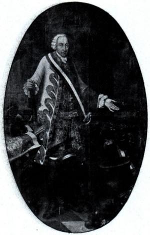 Polní maršál Ernst Dietrich Marschall, velitel olomoucké pevnosti během obléhání