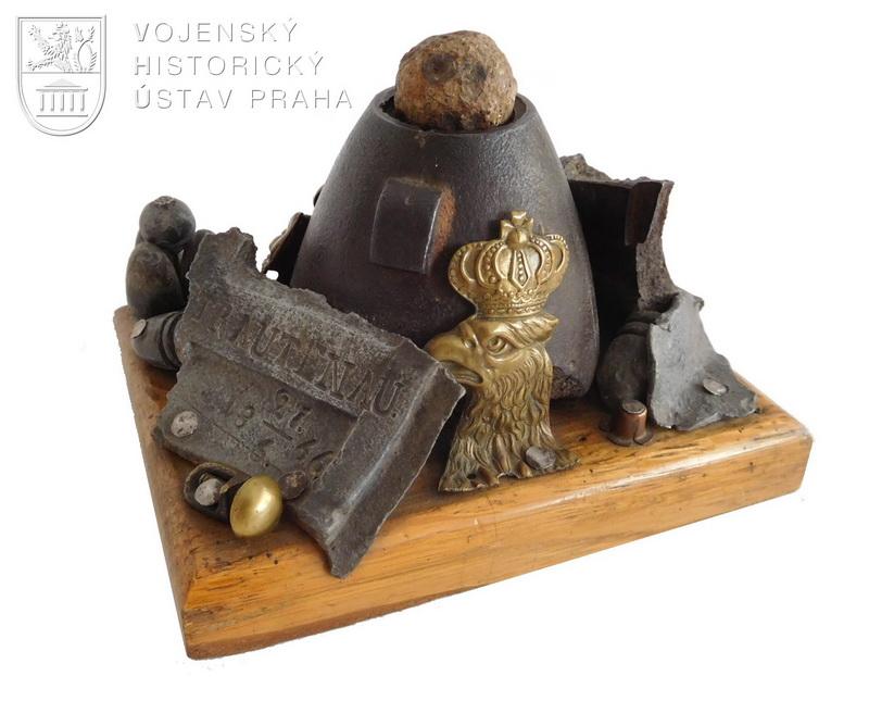 Artefakty z bitvy u Trutnova v roce 1866