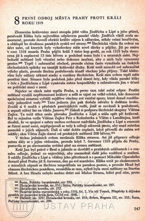 Ukázka kapitoly věnované bojům v roce 1319.