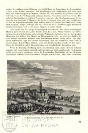 Francouzská vojska u Bernu v roce 1798.