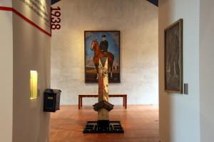 Centrální část výstavy, její závěr