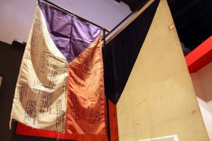 Sekce věnovaná státní vlajce