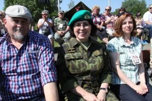 Hostem v Lešanech byla i brigádní generálka Lenka Šmerdová
