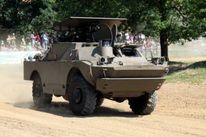 BRDM-2 s protitankovou řízenou střelou Maljutka