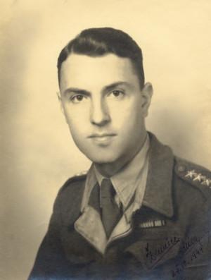 Miloslav Kašpar na snímku z 25. října 1944.  Foto: archiv autora