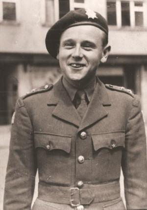Zdeněk Kletečka při výcviku ve Velké Británii