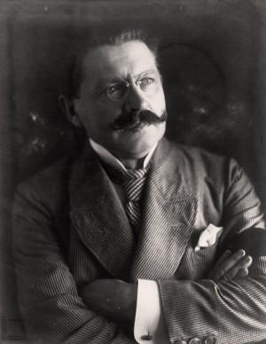 Václav Jaroslav Klofáč, místopředseda Národního výboru v Praze a ministr národní obrany v první a druhé vládě (VHÚ Praha)
