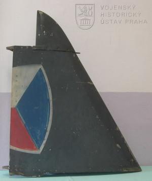 Kýlová plocha letounu Aero Ae-45