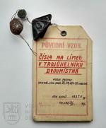 Límcové označení hraničářských pluků, 1937