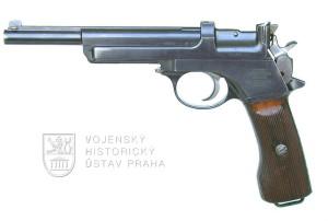 Rakouská pistole Mannlicher model 1905
