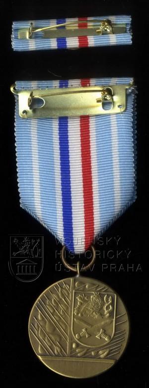 Medaile ministra obrany Za službu v zahraničí – operace KFOR, 3. stupeň