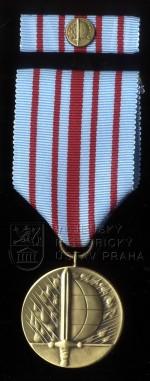 Medaile ministra obrany Za službu v zahraničí – bojová mise, 3. stupeň