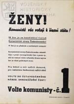 Předvolební leták KSČ, 1946