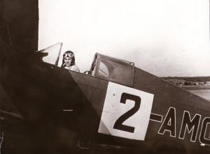 Jako člen čs. soutěžního týmu v Curychu v létě 1937 v kabině závodní Avie B-534.204 (OK-AMQ) se startovním číslem 2.