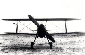 Prototyp stíhacího letounu Praga E-45