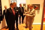 Maršálek polského Sejmu Marek Kuchciński navštívil výstavu Doteky státnosti na Pražském hradě