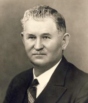Jan Sýkora ve třicátých letech dvacátého století (Blovice Info)