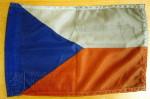 Vlaječka České republiky z automobilu 18. jednotky Leteckého poradního týmu v Afghánistánu