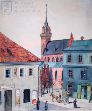 Jindřich Biebl, Tarnov, 1915