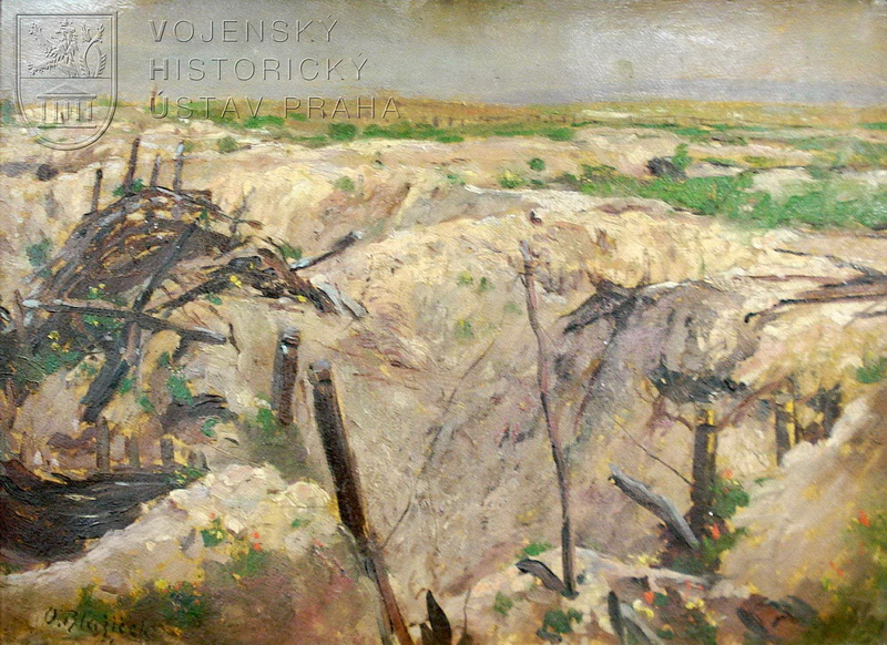 Oldřich Blažíček, Verdun, 1. třetina 20. století