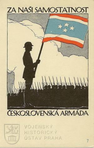 Za naši samostatnost, 1918