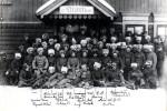 Českoslovenští legionáři na nádraží v Čeljabinsku