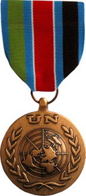 Medaile OSN za aktivní účast v misích UNPROFOR a UNCRO