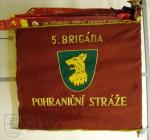 Bojová zástava 5. brigády pohraniční stráže, 60. léta 20. století
