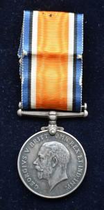 Britská válečná medaile Bohdana Mosiga