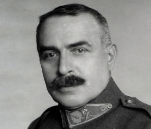 Generál Ing. Jan Diviš jako zemský vojenský velitel v Čechách (VHÚ Praha)
