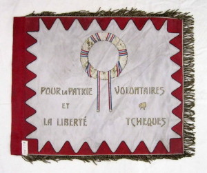 Druhý praporek Roty Nazdar, 1915