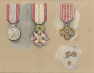 František Kupka, Návrh Řádu Zlaté lípy, 1918