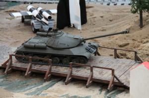 Ukázka modelů vojenské techniky