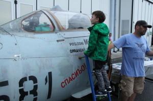 PMN v Leteckém muzeu Kbely