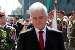 Předseda Senátu Parlamentu České republiky Milan Štěch