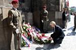 Pietní akt v Resslově ulici uctil památku parašutistů