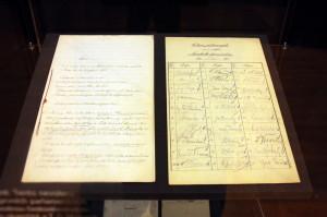 Zápis o 1. schůzi Národního shromáždění, 14. listopadu 1918.