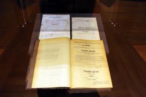 Versailleská smlouva, 1919. Smlouva se stala součástí čs. právního řádu.