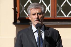 Slovenský velvyslanec v České republice Peter Weiss