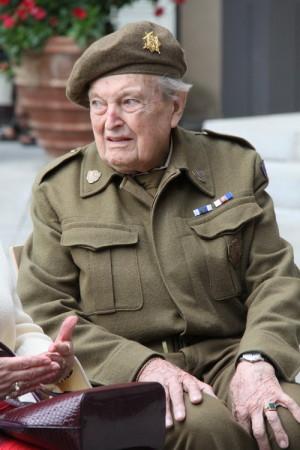 Pětadevadesátiletý Jiří Tomeš, který sloužil u Hradní stráže v letech 1945-47