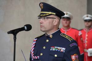 Současný velitel Hradní stráže, plukovník Jiří Kývala