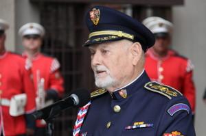 Výtvarník Theodor Pištěk, plukovník v.v.