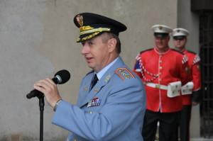 Náčelník Vojenské kanceláře prezidenta republiky, generálmajor Jan Kaše