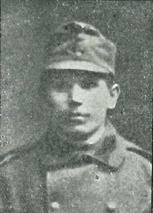 Rudolf Kouřimský, narozený 13. dubna 1893 v Hostěradicích u Jílového. Byl zajat Italy v srpnu 1917 na Soči. Civilním povoláním tovární dělník, svobodný.